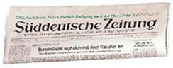 """Lokale Presse """"Süddeutsche Zeitung"""""""