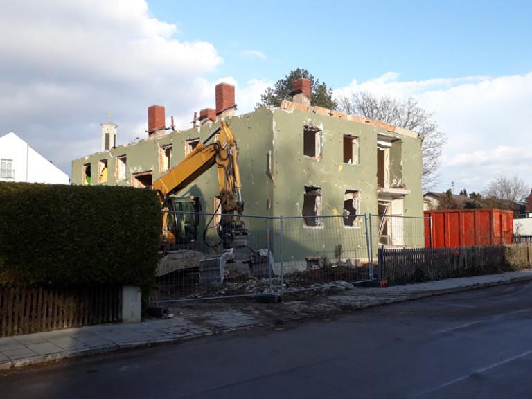 Bau Rosenstrasse