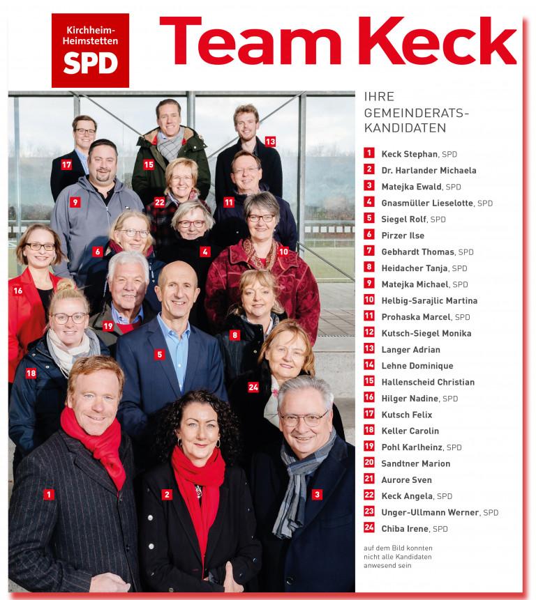 SPD - Kandidatenteam Keck stellt sich vor